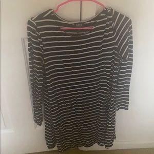 Black and white stripe shirt or dress